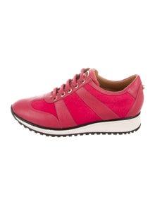 Longchamp Ponyhair Sneakers