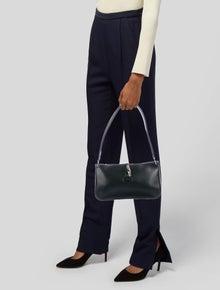 Longchamp Roseau Leather Shoulder Bag