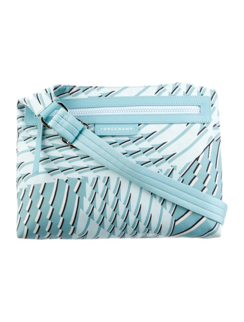 Longchamp Nylon Shoulder Bag Blue