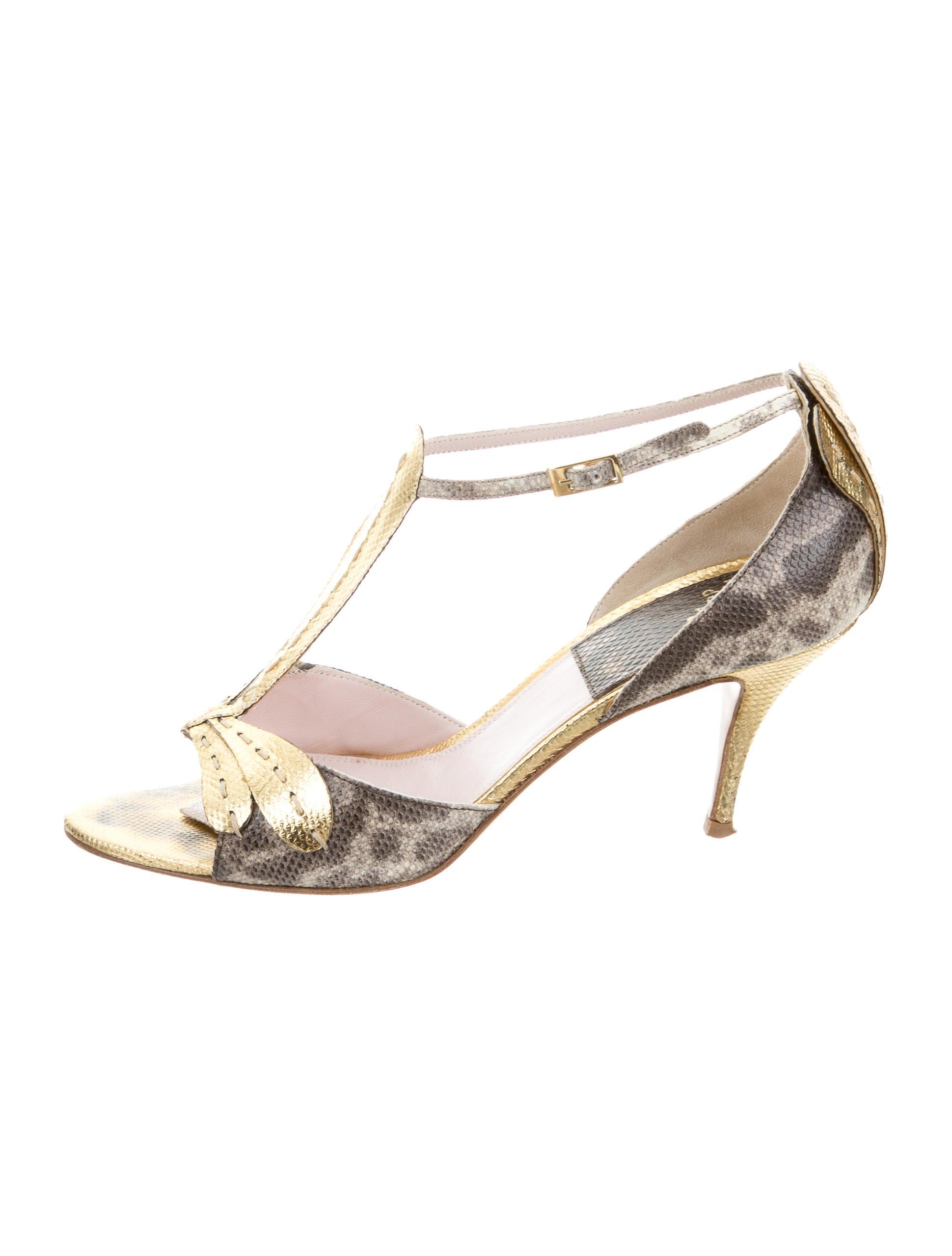 Laurence Dacade Karung T-Strap Sandals exclusive store cheap online 100% original cheap online newest online YlDmN