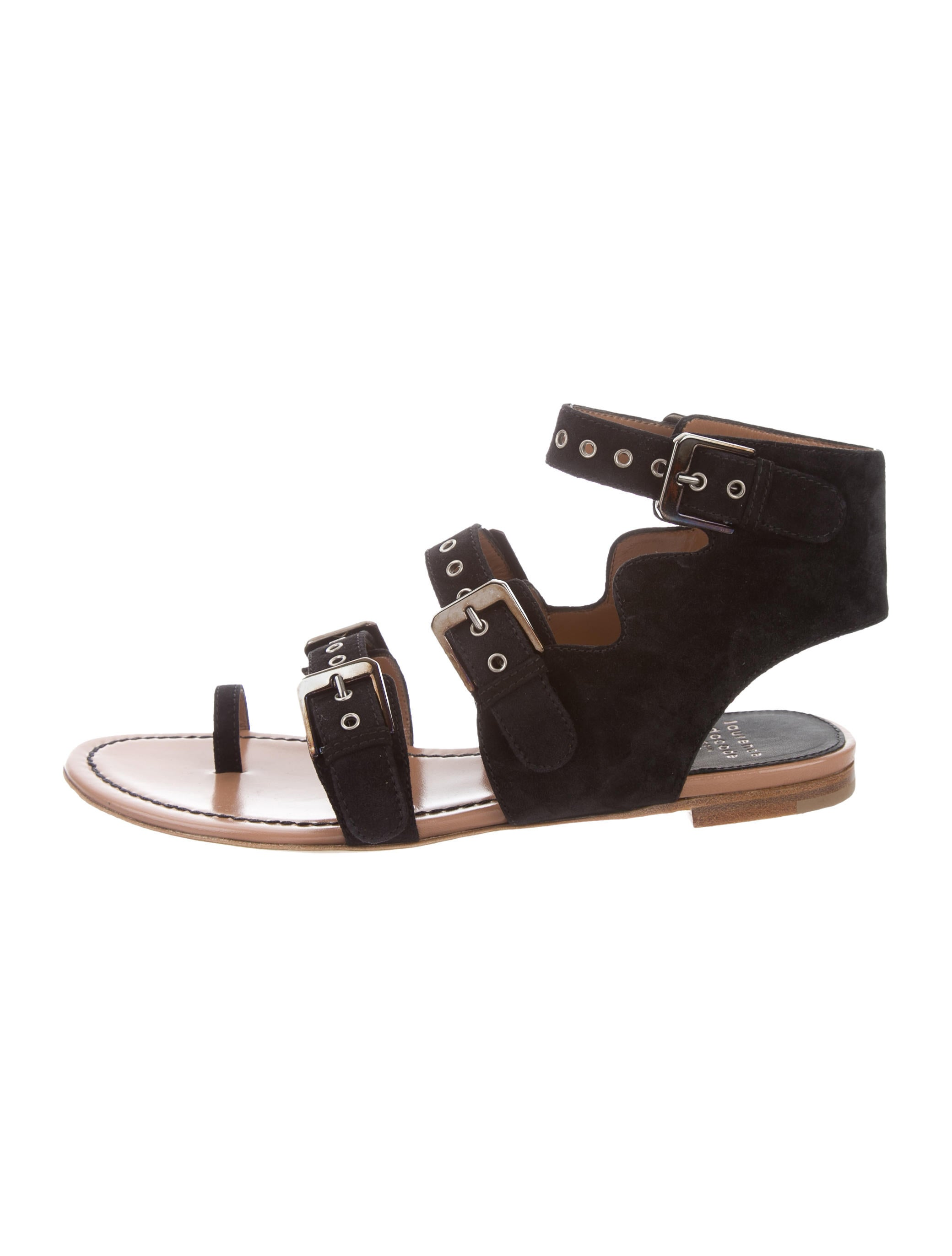 Laurence Dacade Nindy Suede Sandals sale store clearance outlet locations free shipping fashion Style best prices cheap price R44y1O