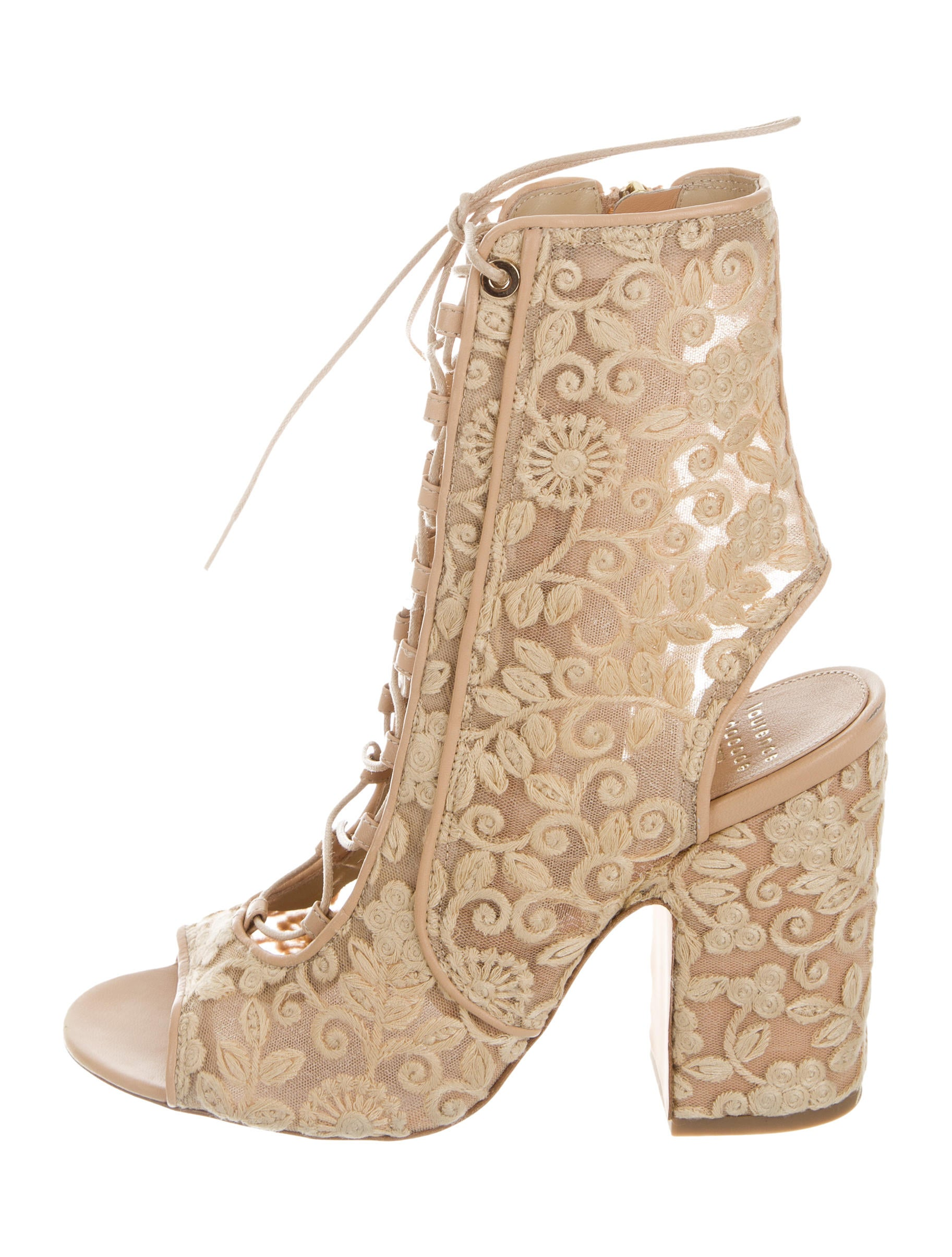 Laurence Dacade Mesh Crochet Booties w/ Tags cheap sale eastbay pay with paypal cheap price how much cheap online pEHPy
