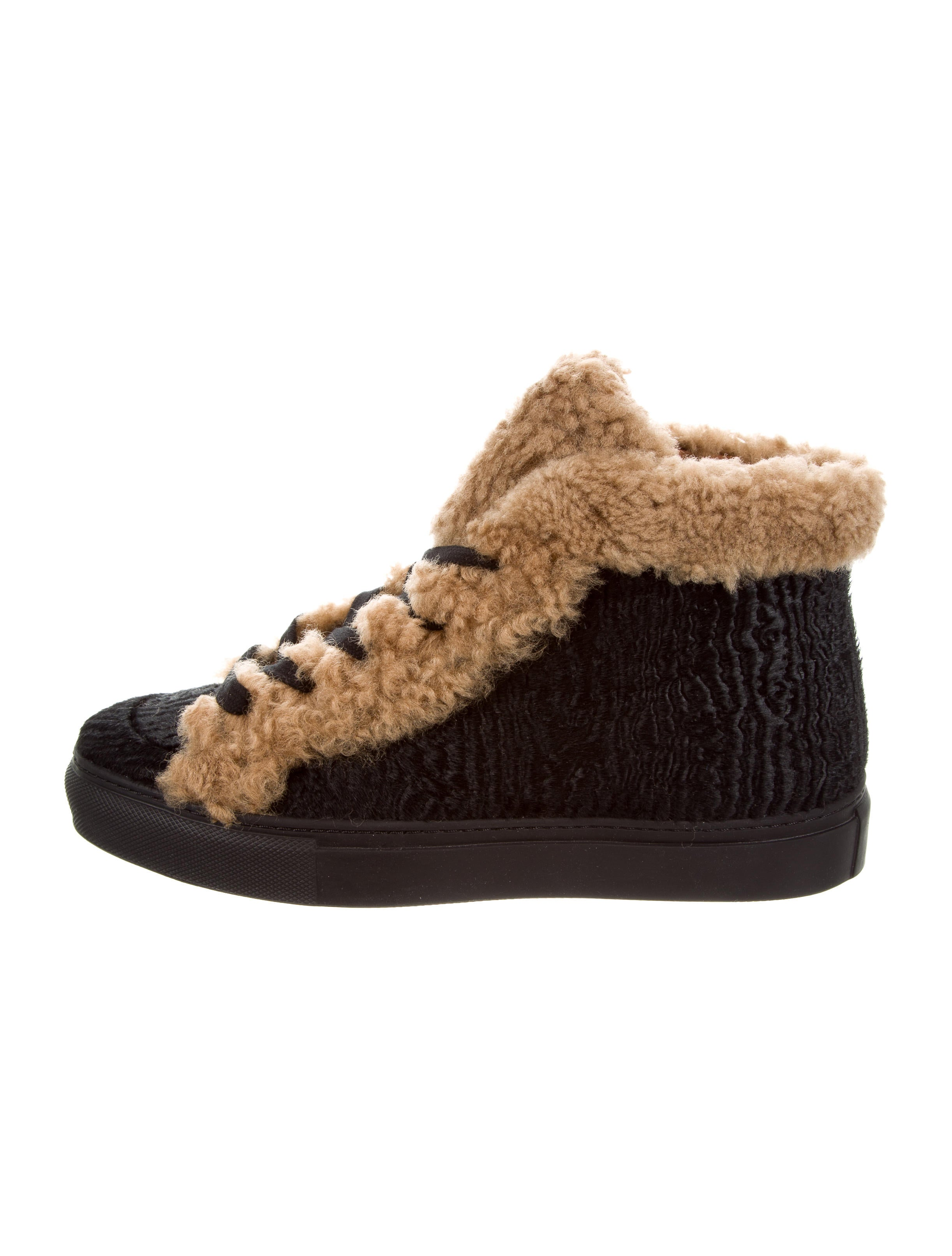Laurence Dacade Hugh Ponyhair High-Top Sneakers free shipping view newest for sale sale pictures u6a9eoFyDO