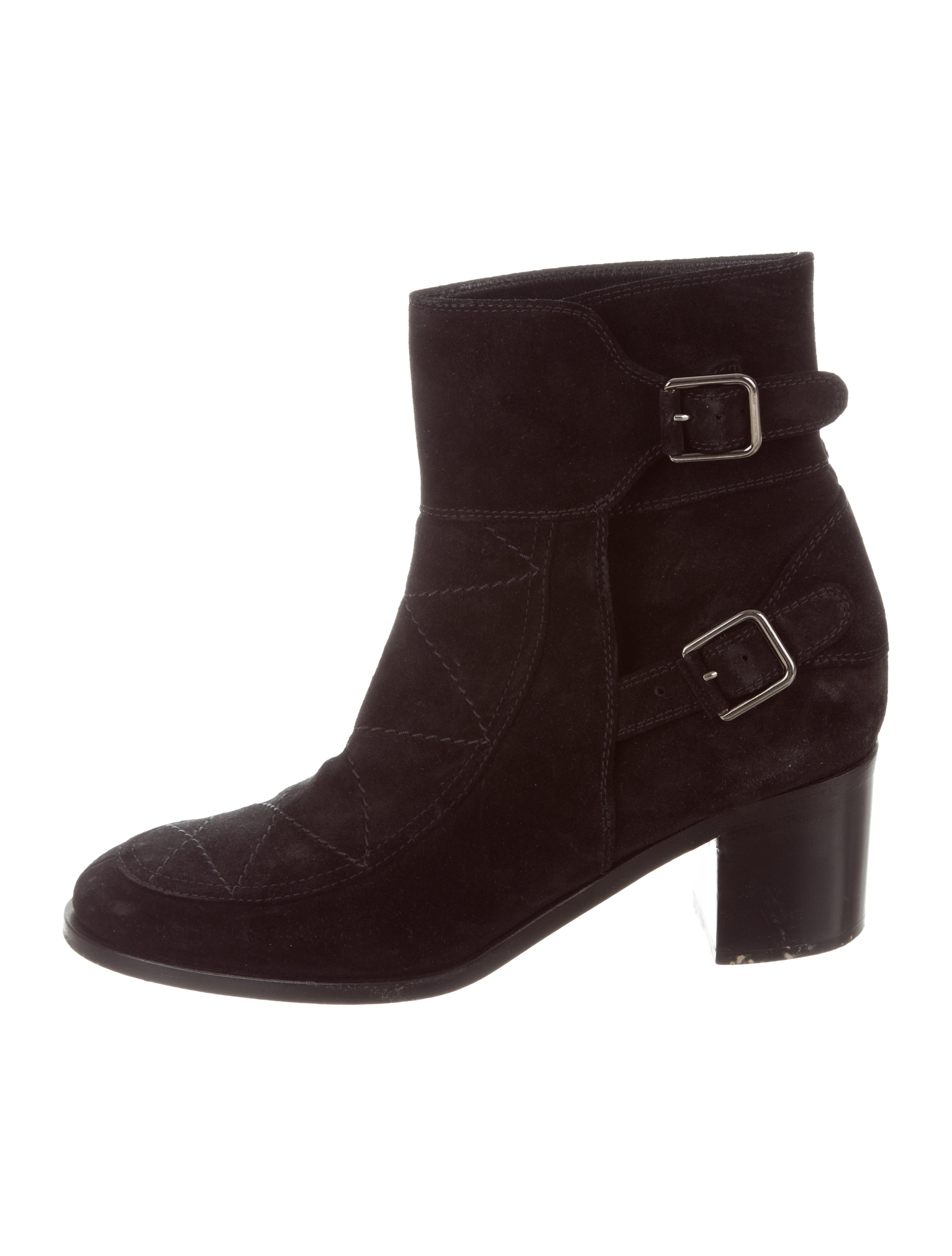 Laurence Dacade Quilted Suede Ankle Boots where can you find sale get to buy official sale online from china free shipping low price 1jlzq