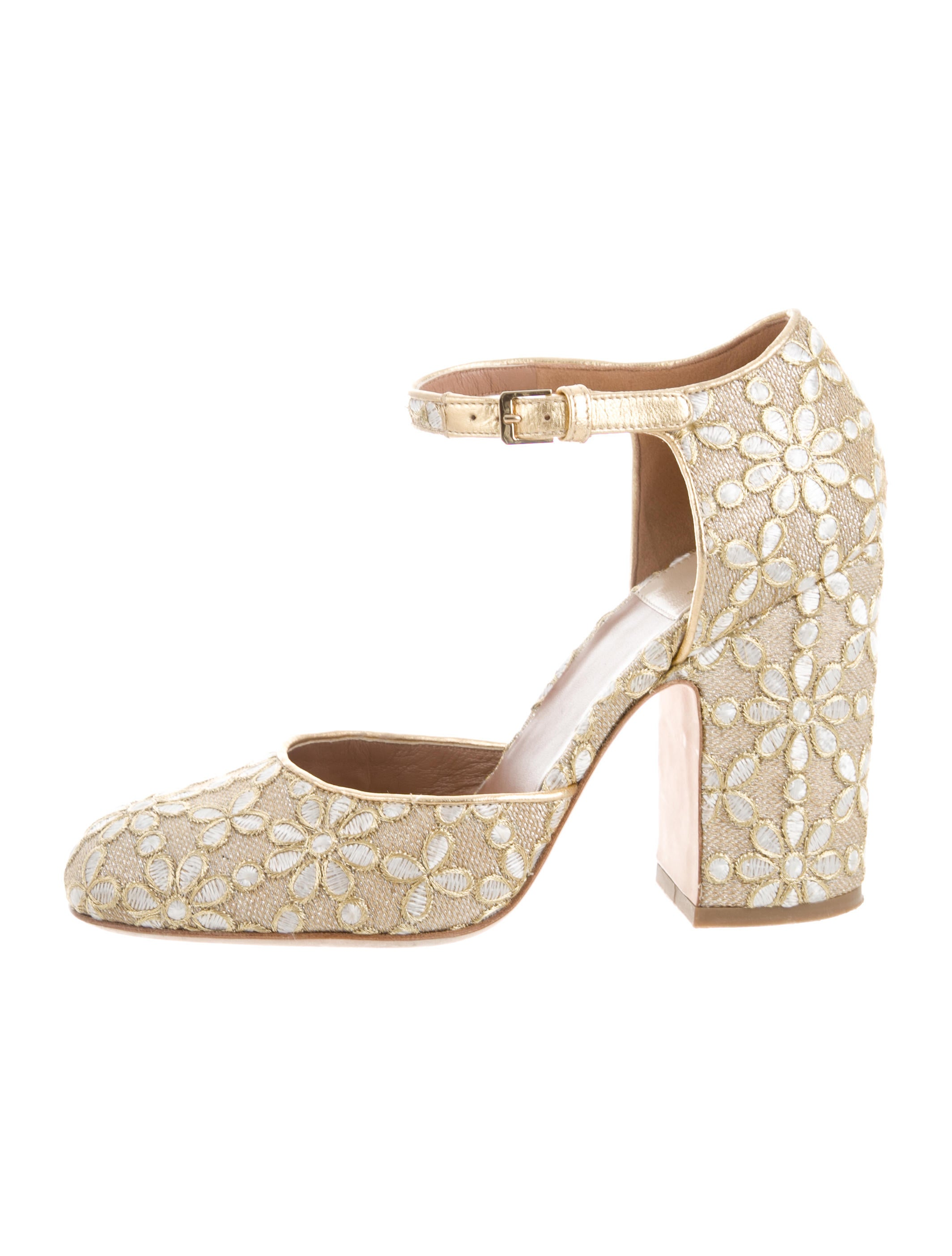 Laurence Dacade Mindy Embroidered Pumps cheap sale very cheap l3dyZnBn