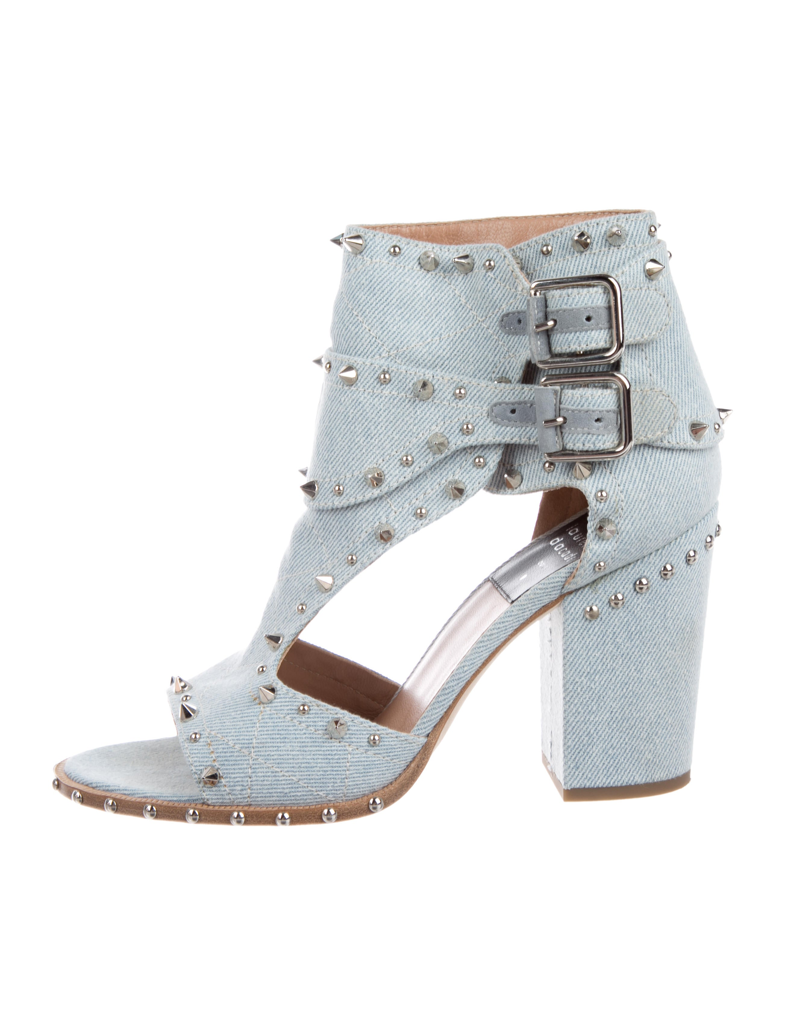 Laurence Dacade Derik Denim Sandals prices cheap price free shipping sast cheap sale browse amazon cheap price outlet store Locations TcnXJ0ngt