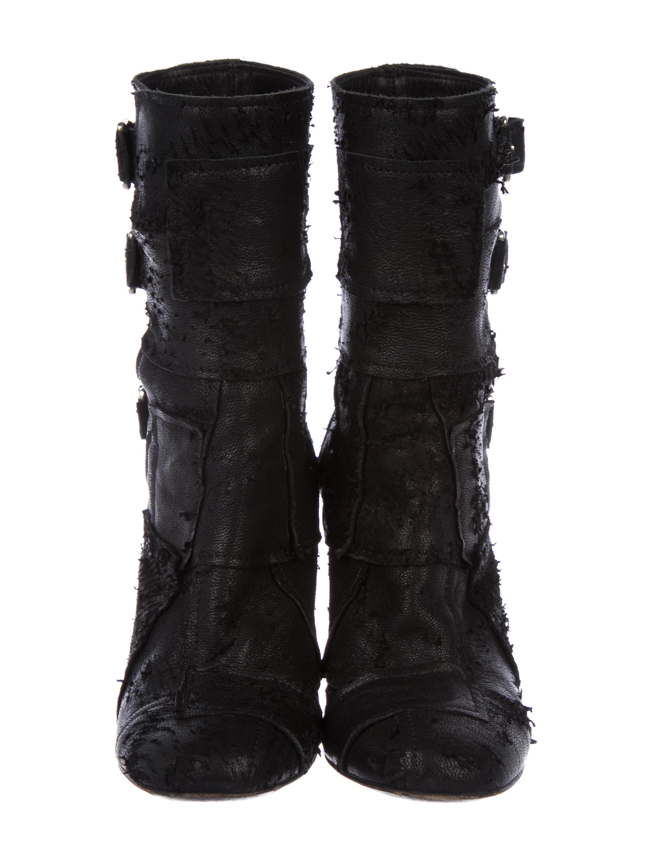 clearance really Laurence Dacade Distress Mid-Calf Boots finishline cheap sale in China sale low shipping fee cheap sale release dates Nl6QqK