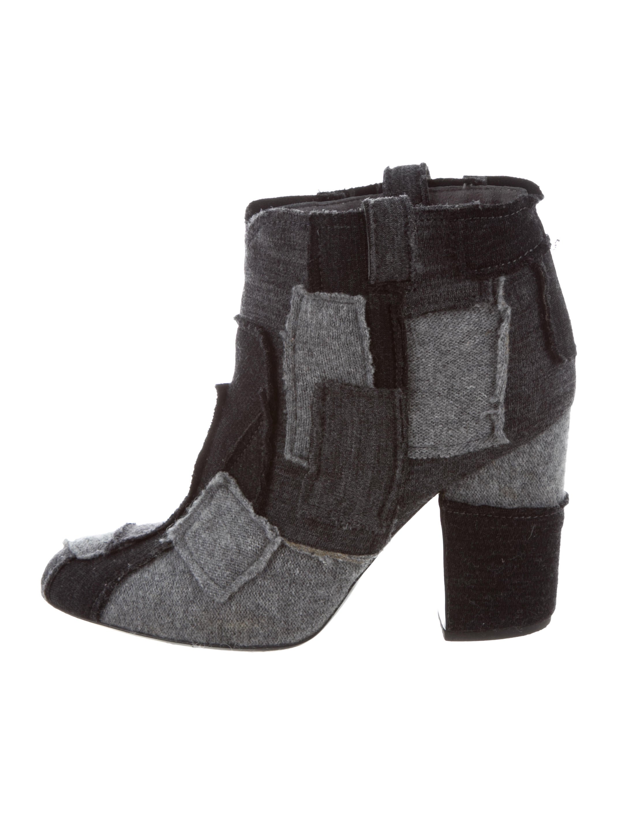 Laurence Dacade Knit Patchwork Booties discount 2015 new V6VMBc