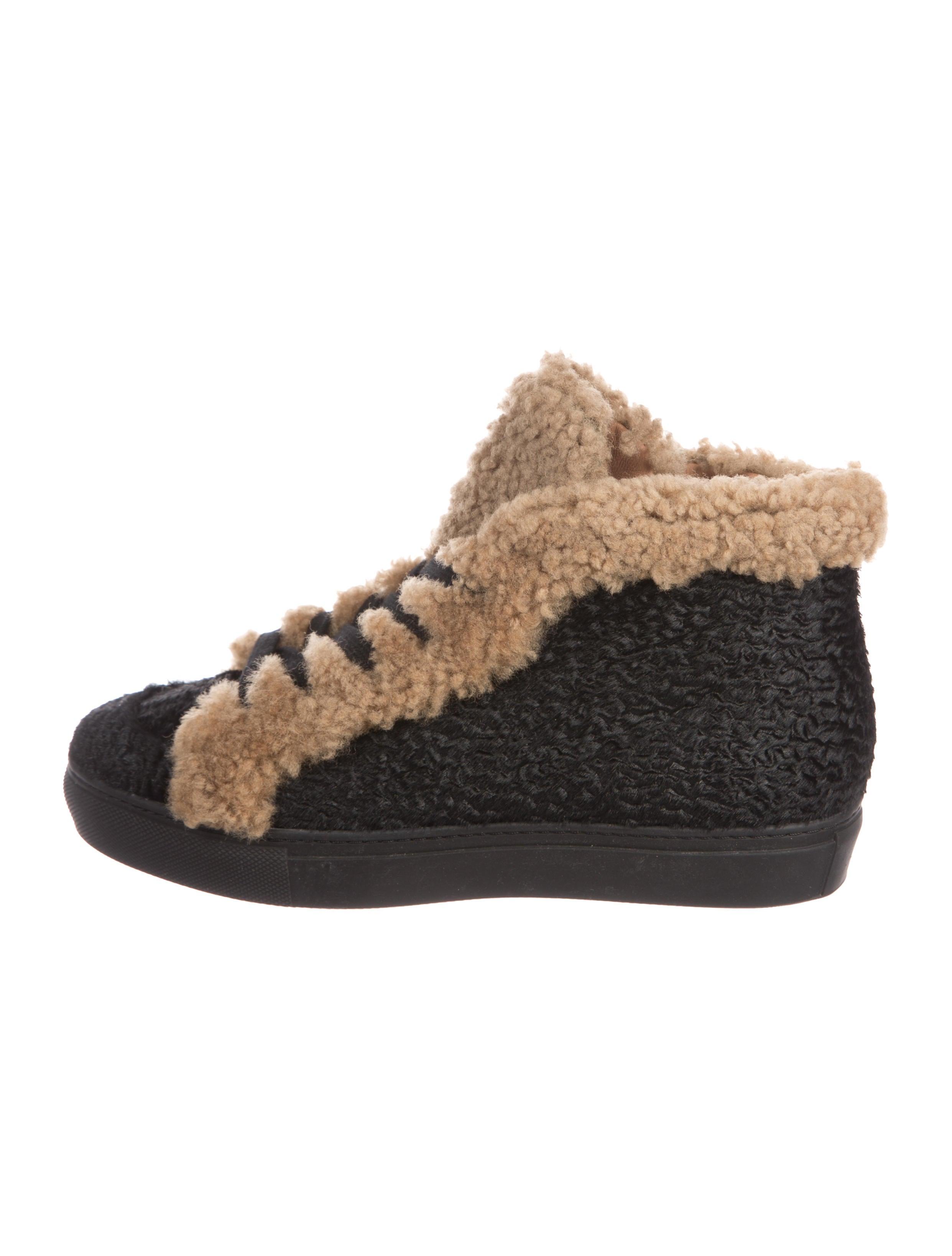 Laurence Dacade Hugh Ponyhair High-Top Sneakers outlet footlocker wide range of cheap price TSKmfgT5