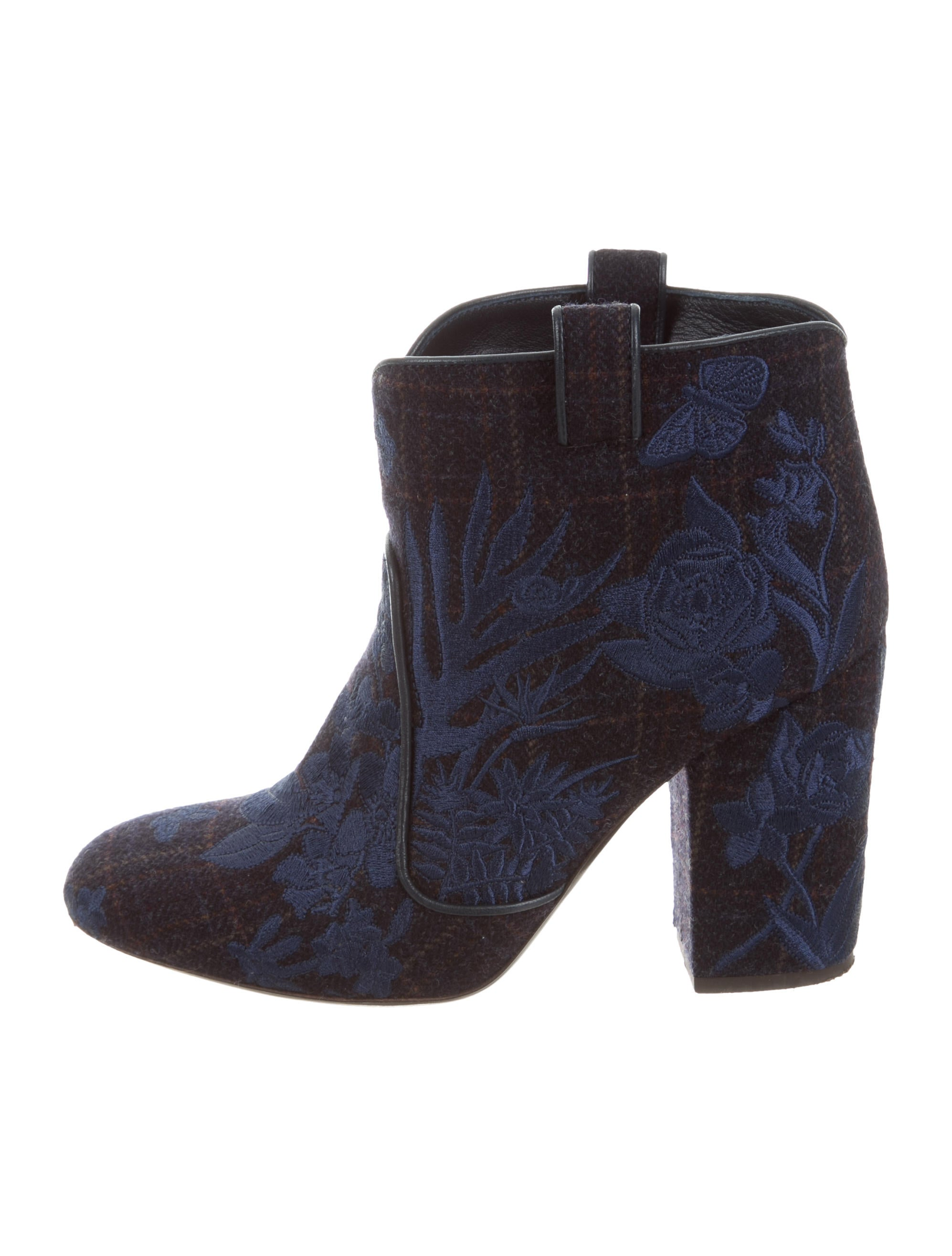 free shipping pay with paypal Laurence Dacade Embroidered Felt Boots big discount online J46f0uOl