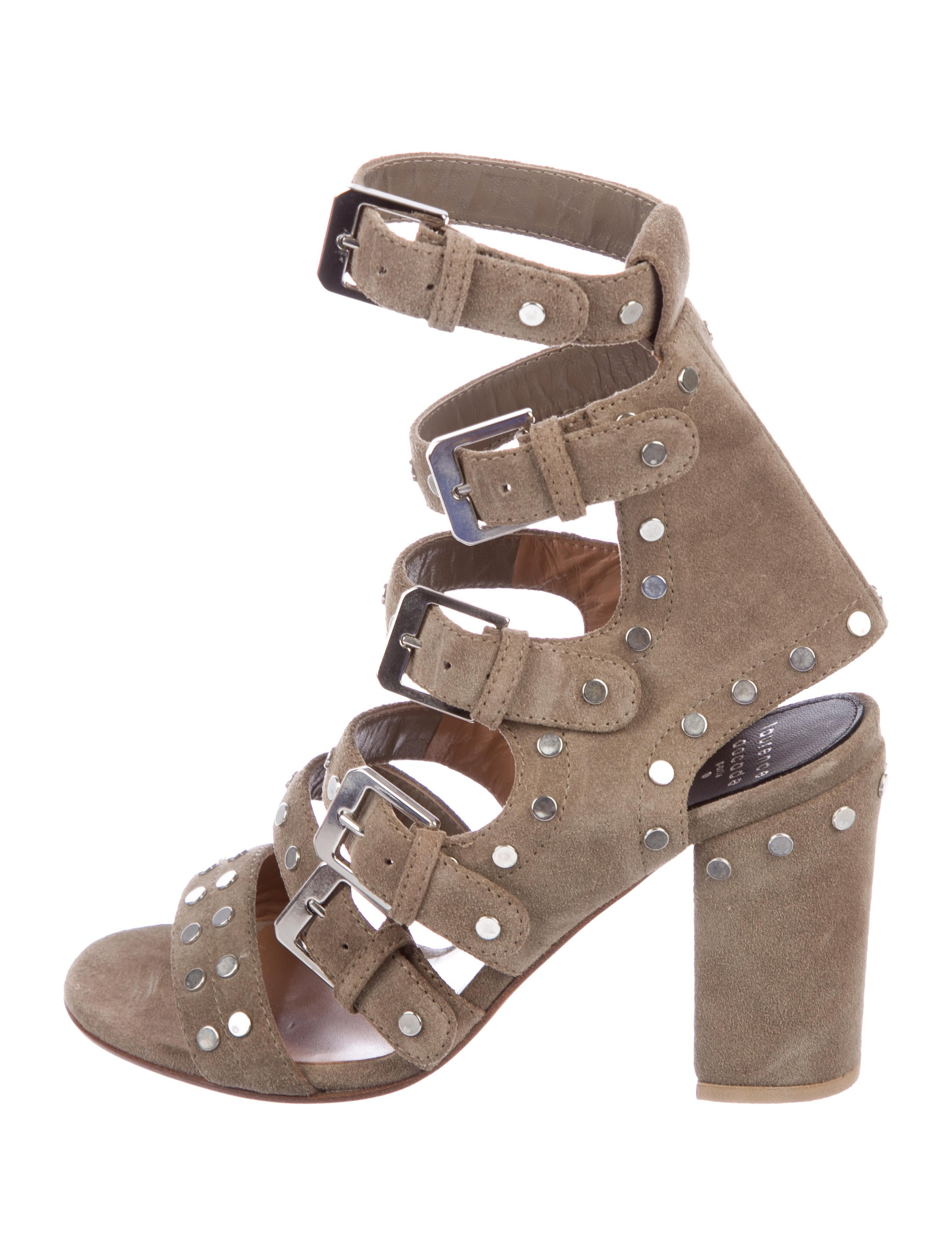 free shipping brand new unisex for sale the cheapest Laurence Dacade Multistrap Leather Sandals ar7o5f