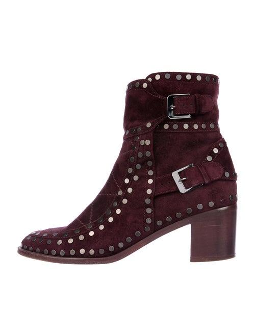 Laurence Dacade Suede Boots Purple