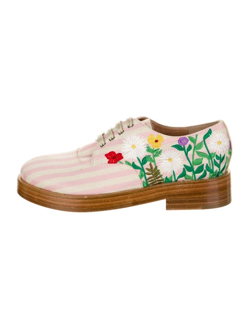 Laurence Dacade Striped Oxfords Pink