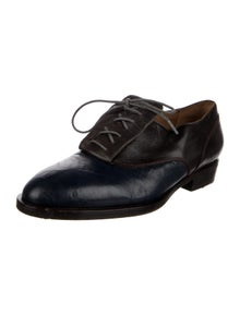 Laurence Dacade Leather Studded Accents Oxfords