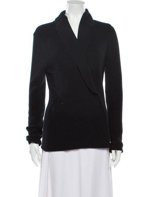 Lauren by Ralph Lauren V-Neck Sweater Black