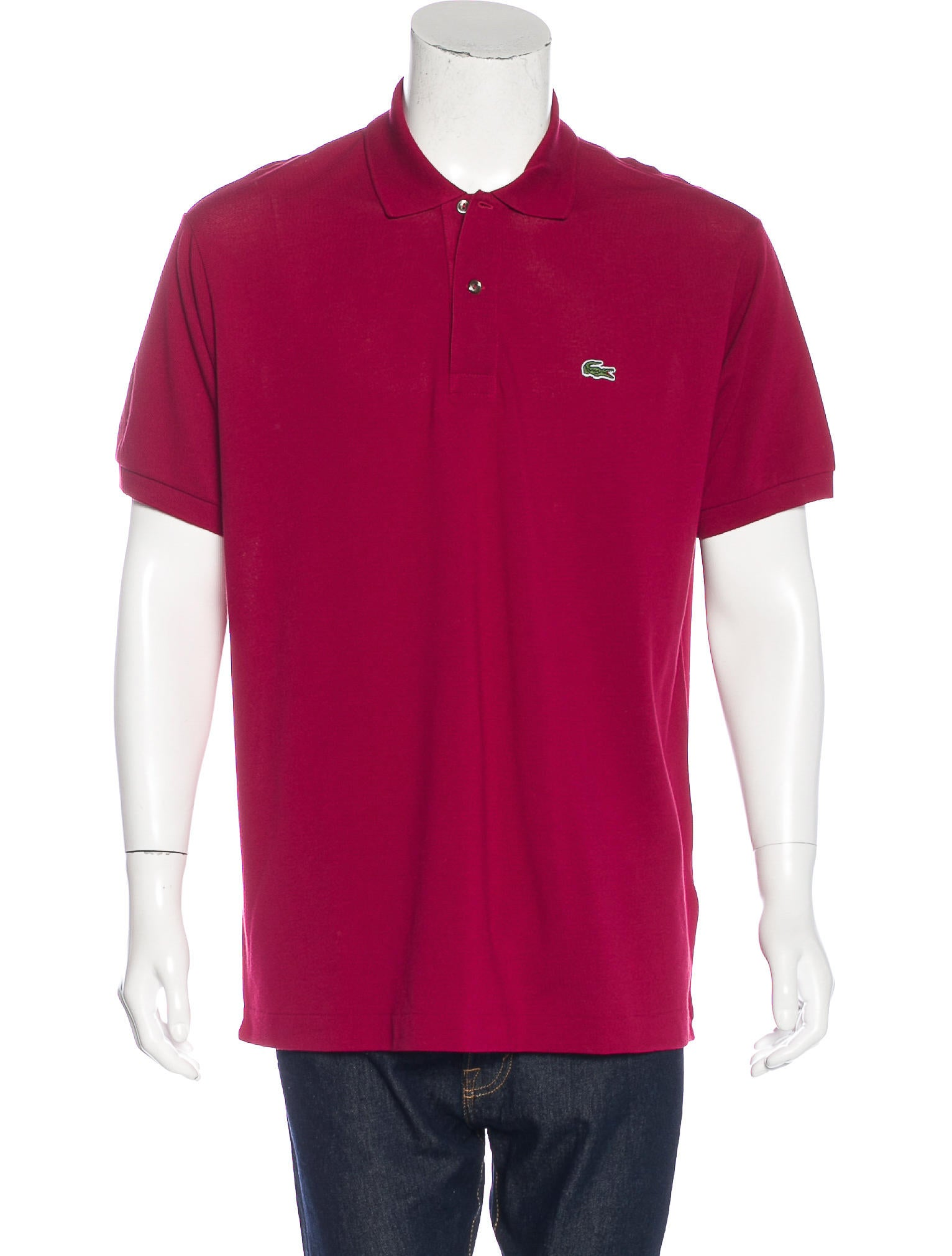 Lacoste embroidered polo shirt w tags clothing for Polo shirts with embroidery