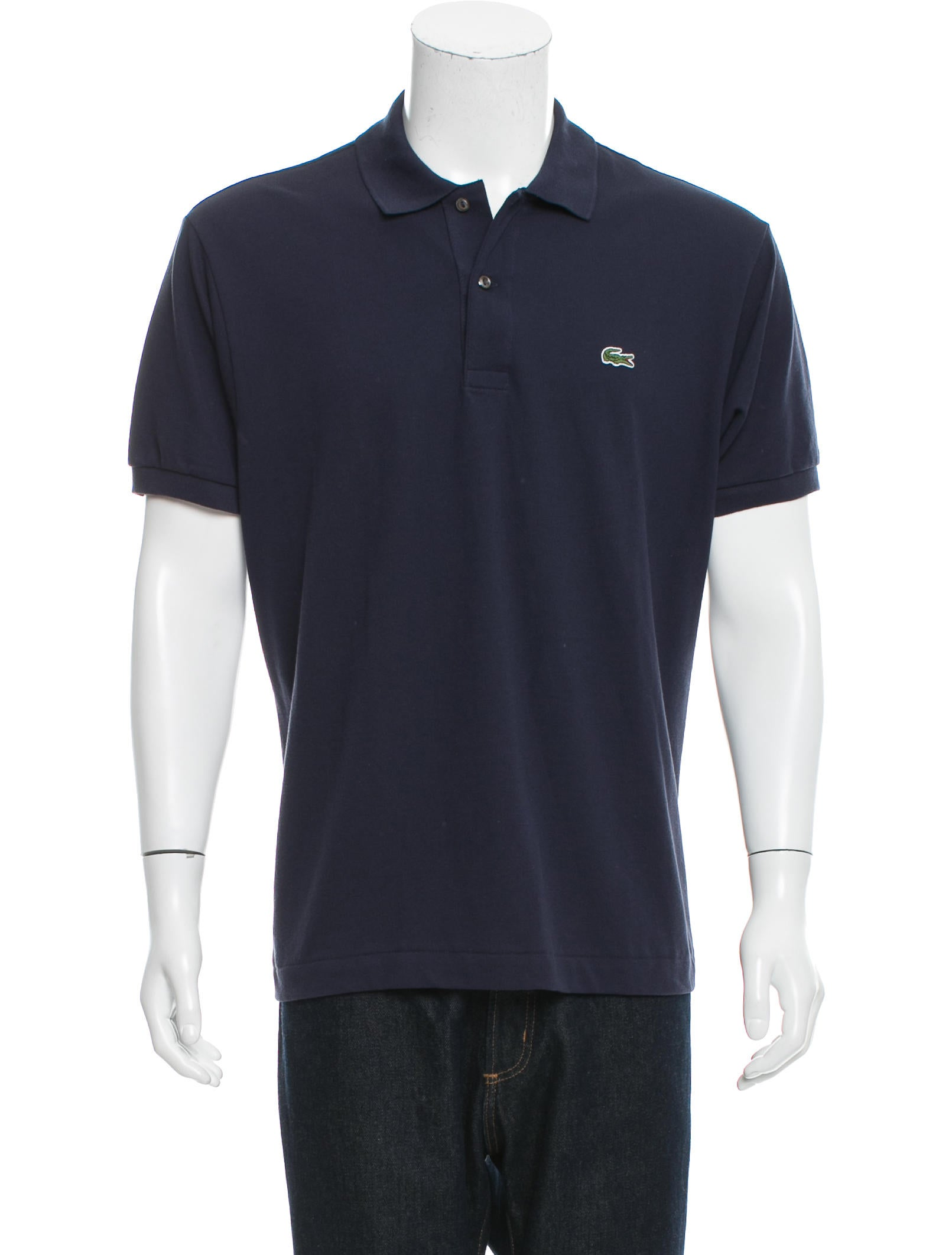 Lacoste logo polo shirt w tags clothing wlcst20020 for Lacoste poloshirt weiay