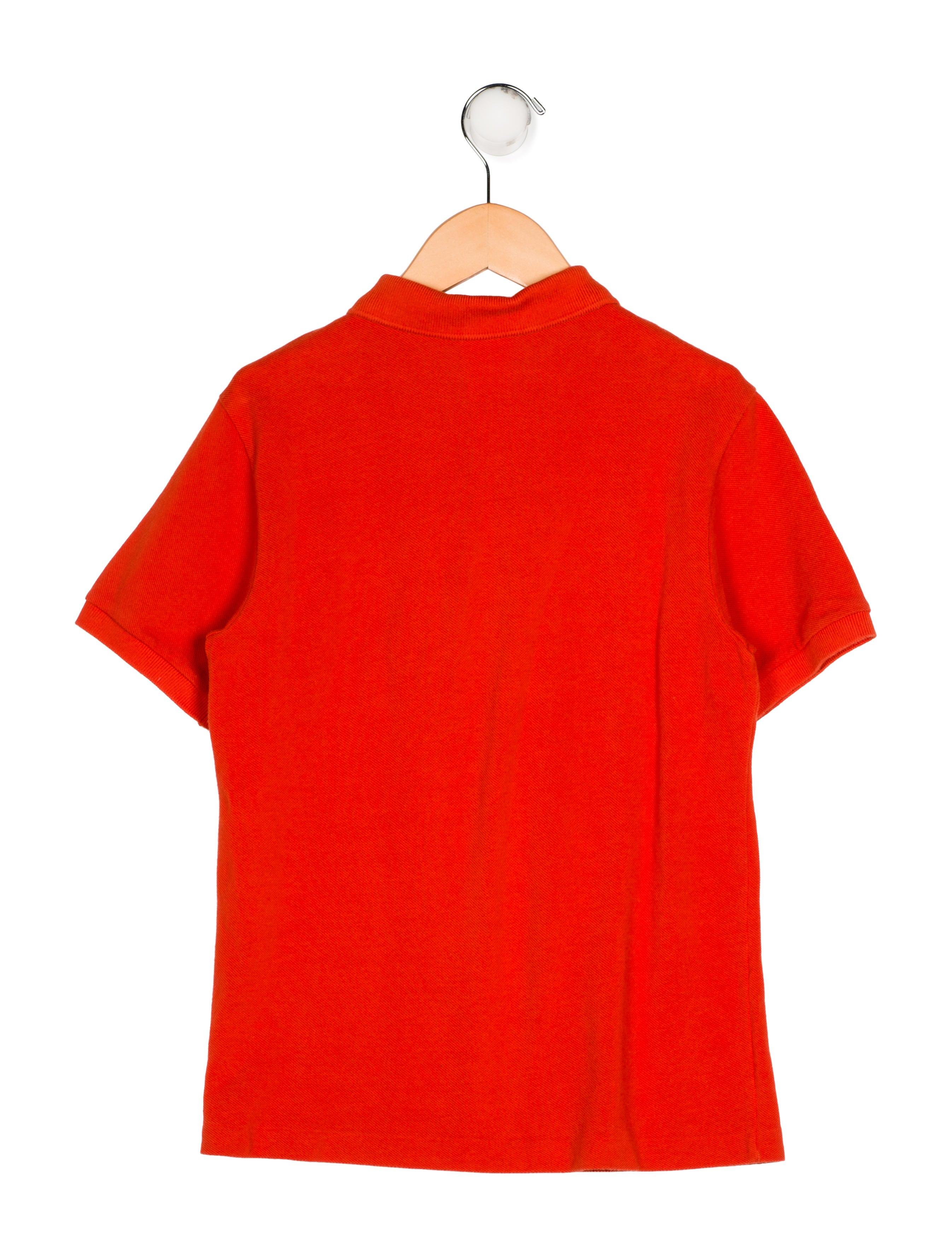 bf8403cec25836 Lacoste Boys  Collar Polo Shirt - Boys - WLCST20217