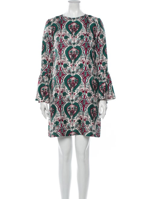 La DoubleJ Silk Mini Dress Green
