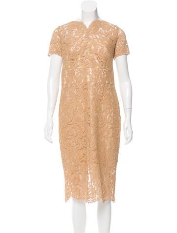 Lover Lace Midi Dress None