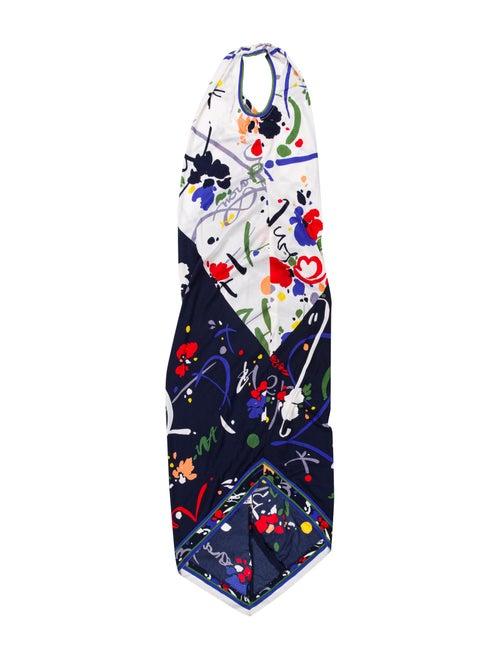 Leonard Vintage Midi Length Dress