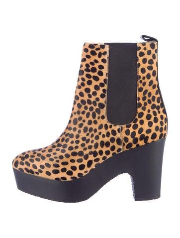 Ponyhair Boots