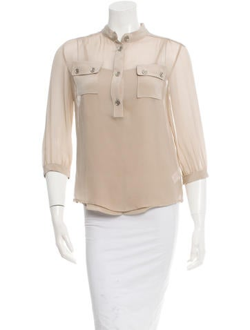 Loeffler Randall Silk Top w/ Tags None