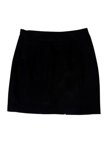 Stud-Accented Mini Skirt