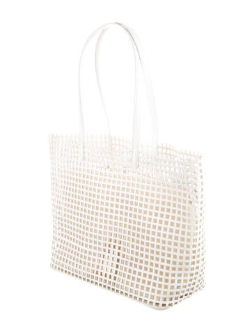 Perforated Trapeze Tote