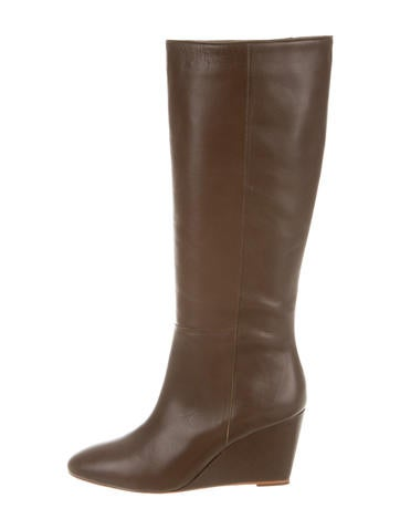 Loeffler Randall Sophie Wedge Boots None