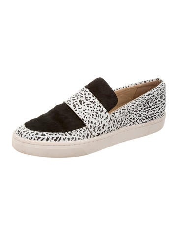 high quality for sale Loeffler Randall Ponyhair Slip-On Sneakers cheap sale nicekicks MvsuaJ5