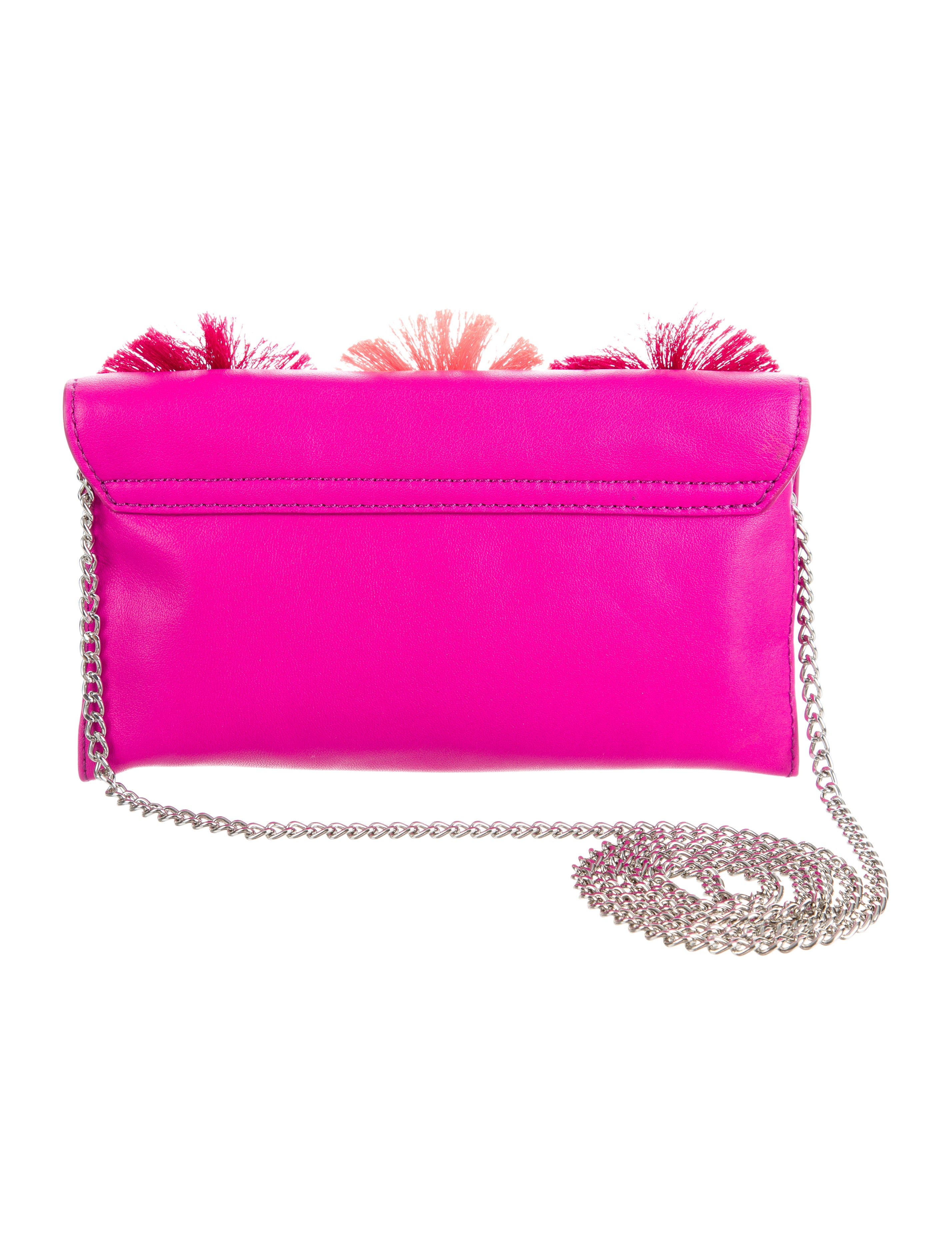 Loeffler Randall Floral Embellished Crossbody Bag - Handbags - WLF26247 | The RealReal