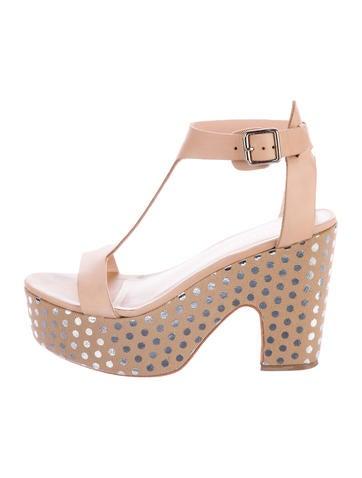 Loeffler Randall Chloe Platform Sandals None