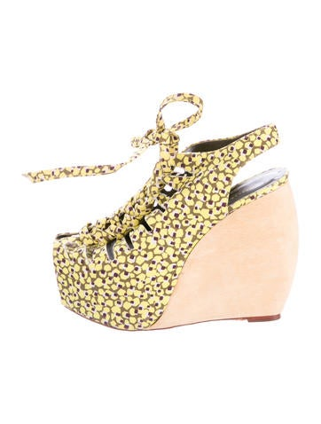 Loeffler Randall Suno Erin Lace-Up Wedges cheap deals KCpEE