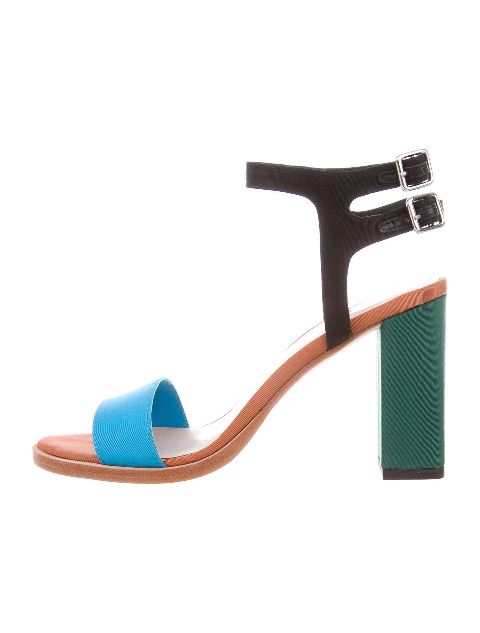 81a806e1596f Loeffler Randall Sylvia Colorblock Sandals w  Tags - Shoes ...