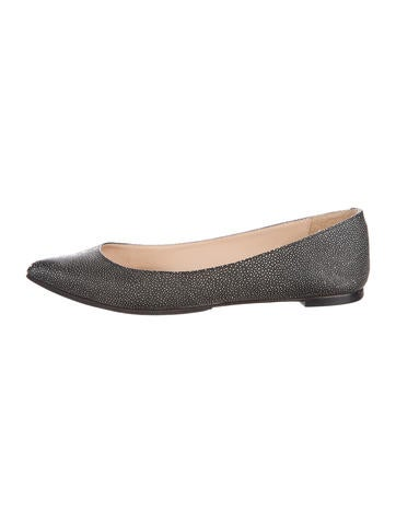 Loeffler Randall Embossed Pointed-Toe Flats clearance online official site cheap price wholesale price really sale online cheap sale fashion Style discount websites kPKLQsdL
