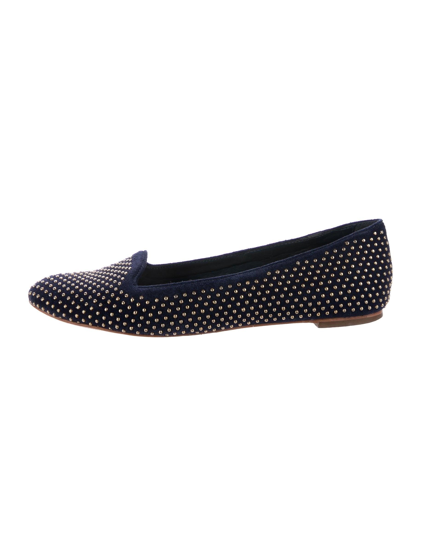 Loeffler Randall Studded Round-Toe Flats shopping online original e1dxbPXRBh