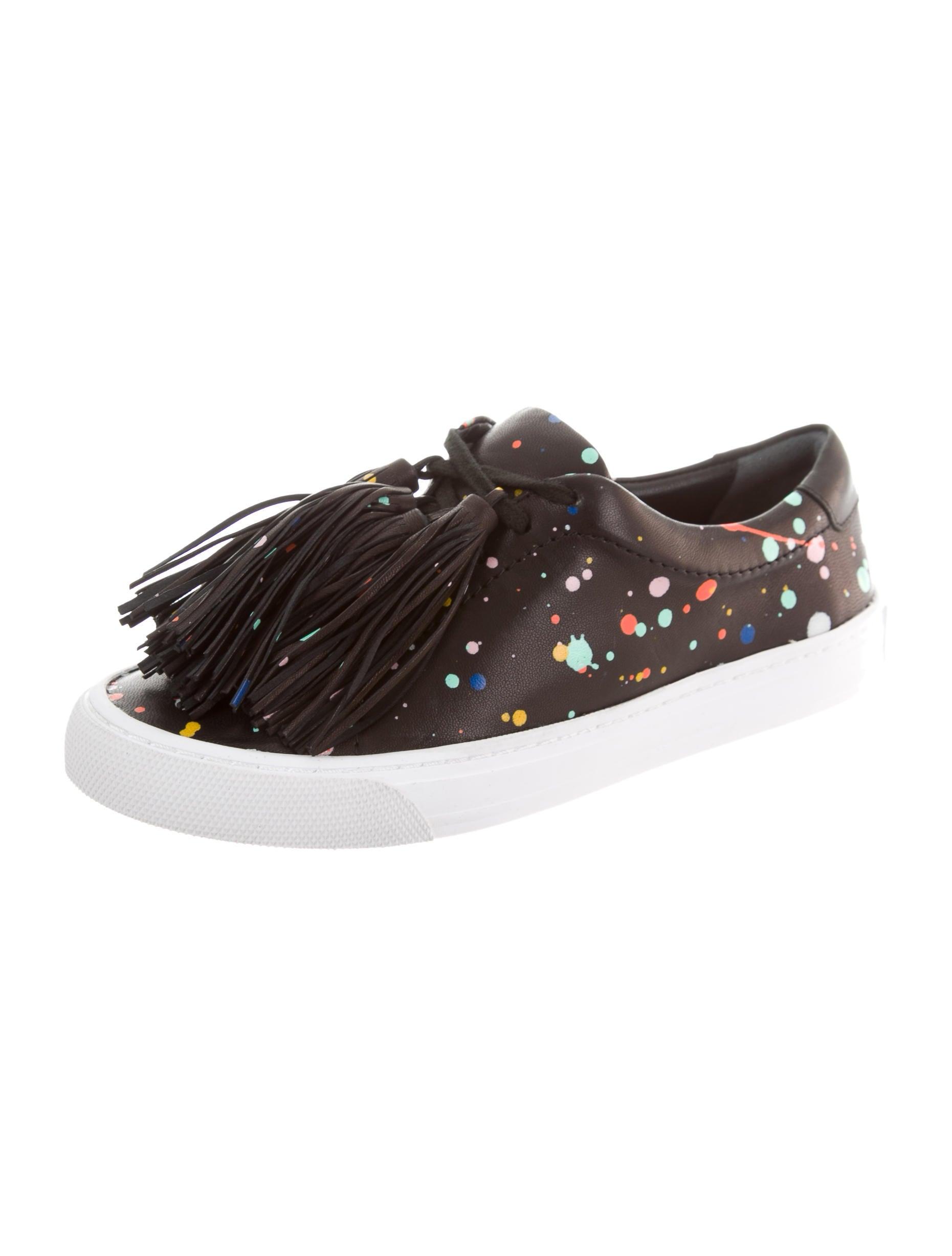 Loeffler Randall Logan Fringe Sneakers w/ Tags sale 2014 discount original footlocker cheap online really cheap price OQwWRu0M1
