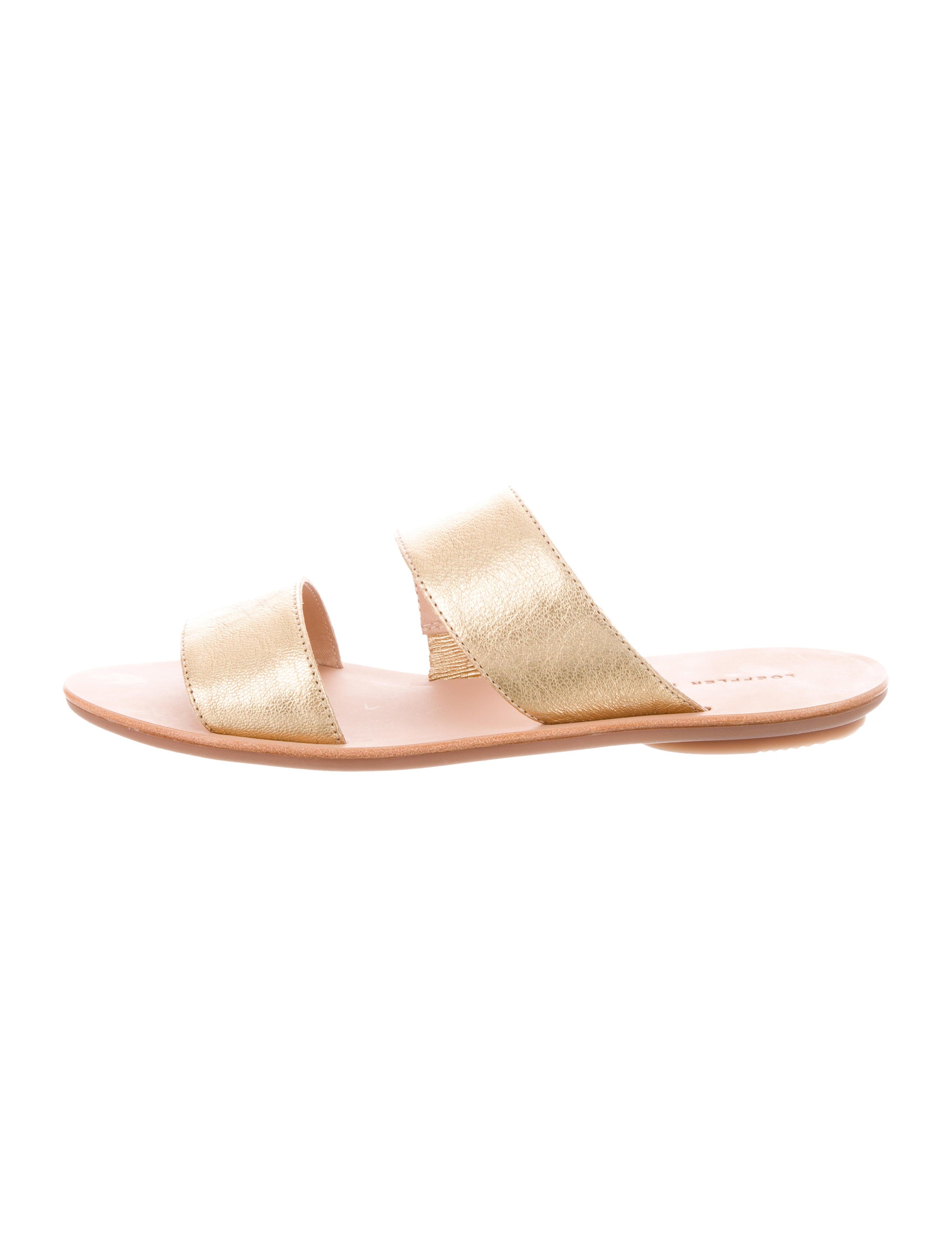 Loeffler Randall Clem Slide Sandals w/ Tags professional online yFjliIzm3Q