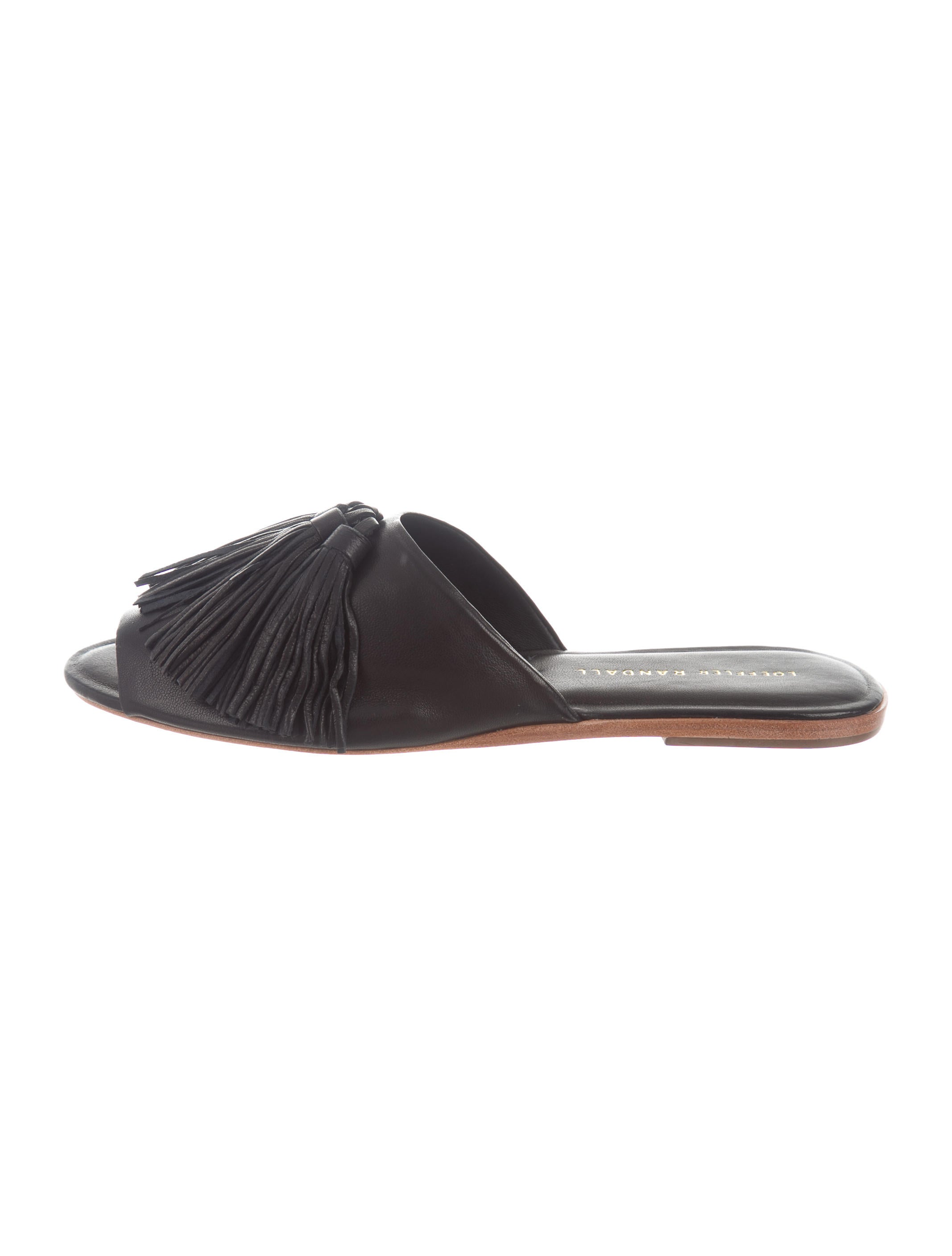 manchester great sale Loeffler Randall Kiki Peep-Toe Mules w/ Tags best seller sale online extremely online wgg0czC