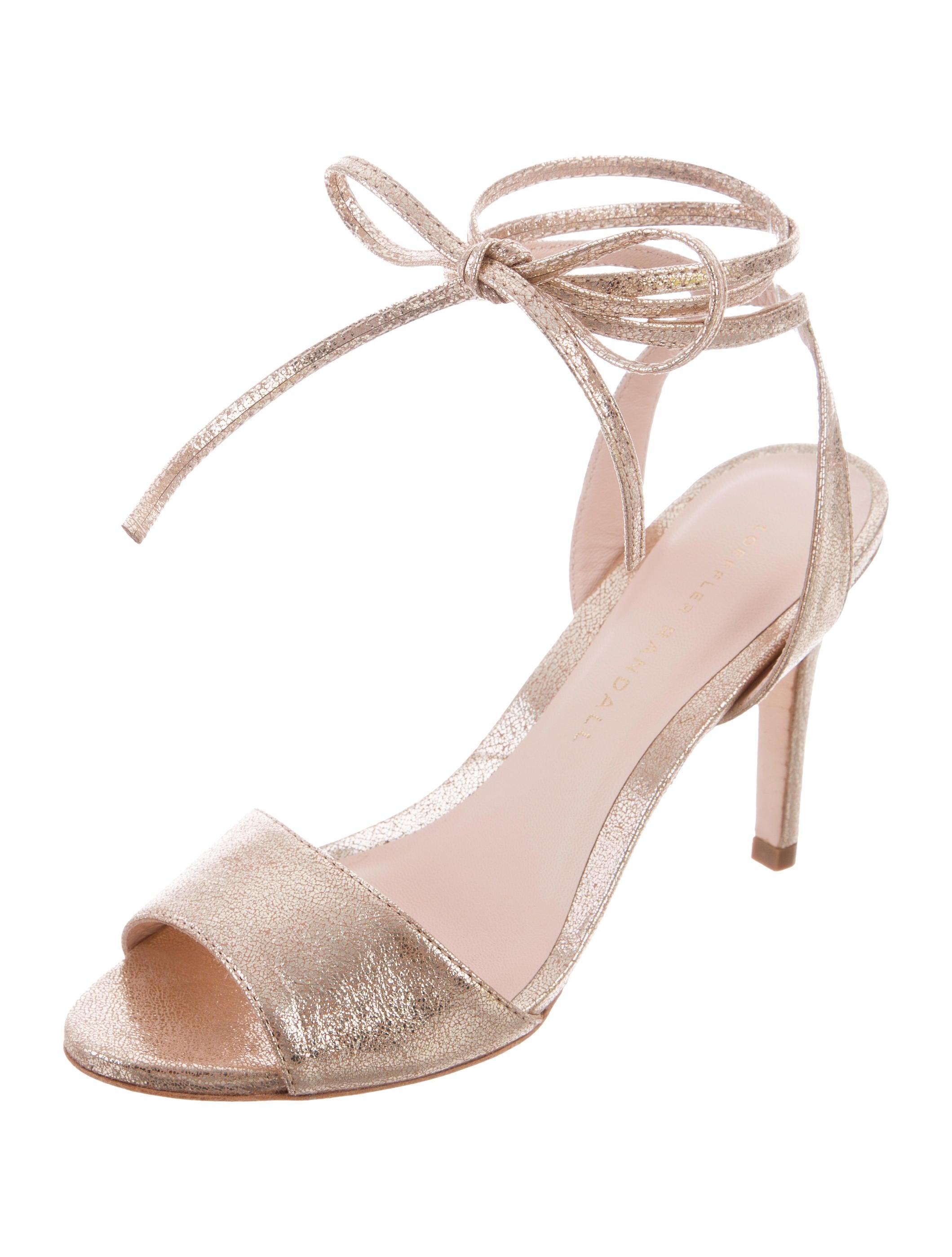 Loeffler Randall Metallic Elyse Sandals w/ Tags clearance view low price fee shipping cheap online JoLvQKckp