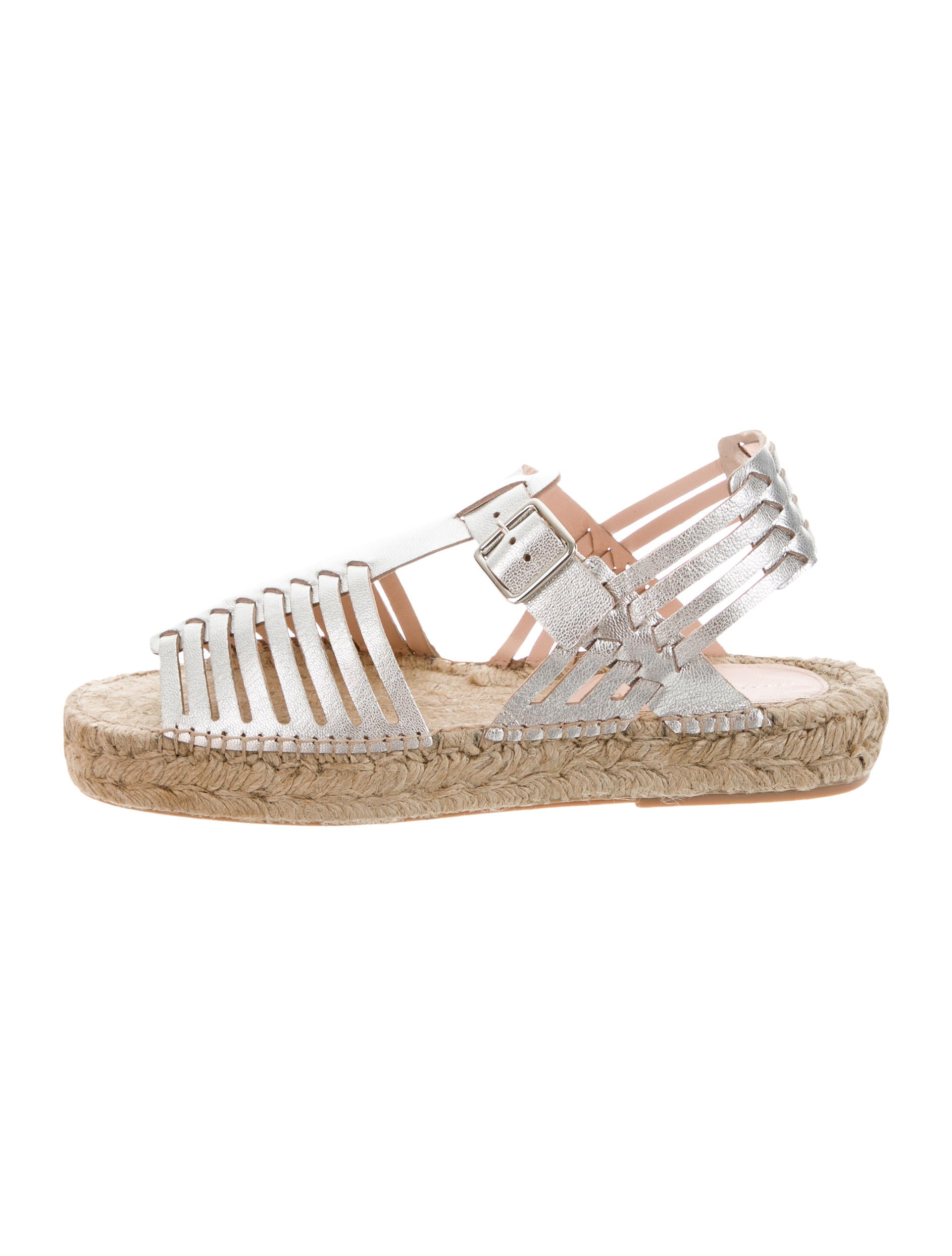 Loeffler Randall Leather Reid Espadrilles w/ Tags how much sale online sale official xNXS7