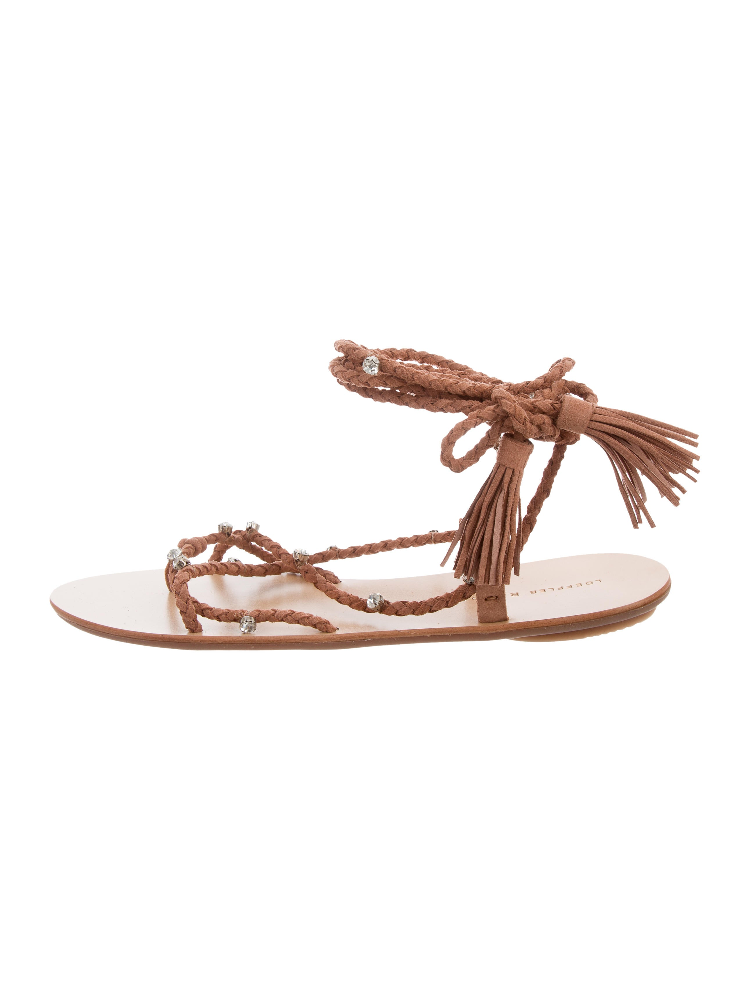 best wholesale online affordable sale online Loeffler Randall Bo Embellished Sandals w/ Tags the cheapest cheap price amazon cheap price ZknA6