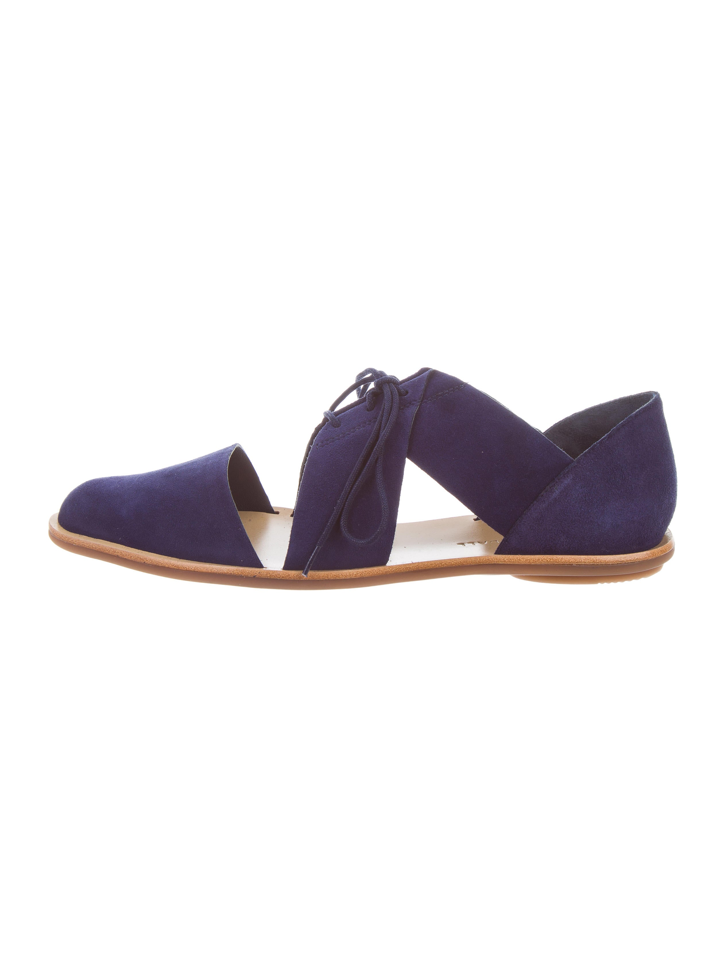 discount Manchester clearance 100% guaranteed Loeffler Randall 2018 Willa Suede Oxfords free shipping discount QQVcck