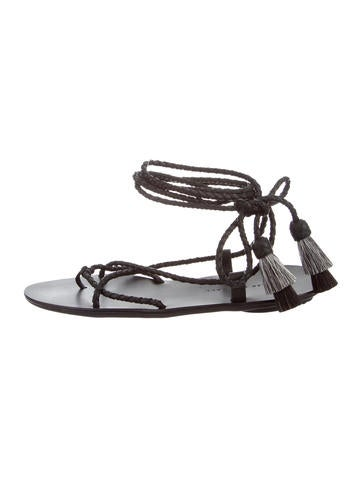 discount footlocker Loeffler Randall Bo Lace-Up Sandals w/ Tags purchase cheap price 0TFPGUbSi