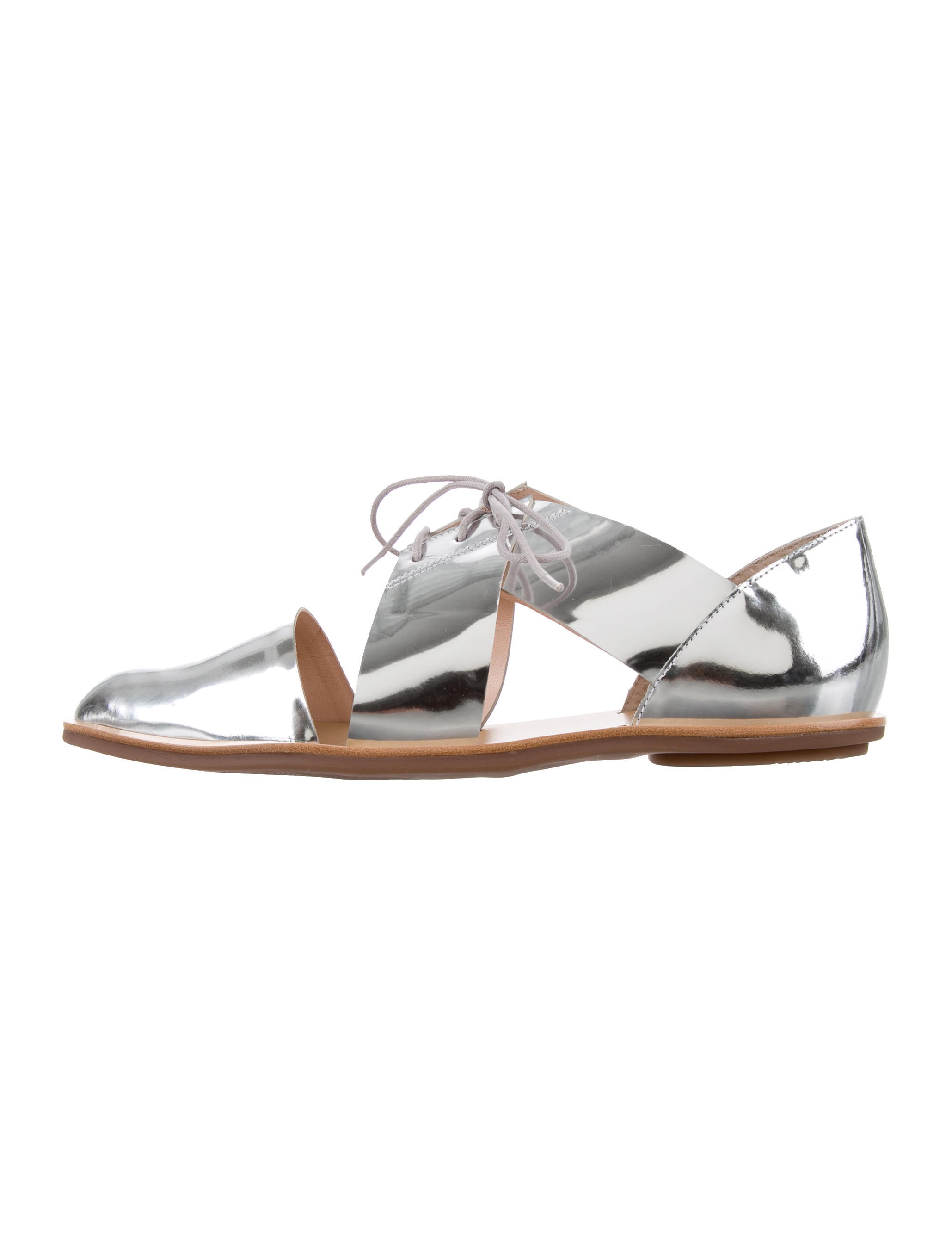 Loeffler Randall Willa Metallic Oxfords w/ Tags brand new unisex outlet locations cheap online outlet under $60 classic cheap online professional online N4HvDW