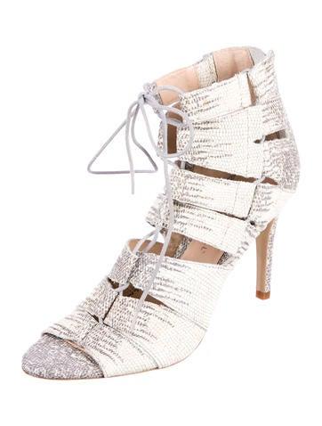 best cheap price really sale online Loeffler Randall Lottie Lace-Up Sandals w/ Tags J1bUc