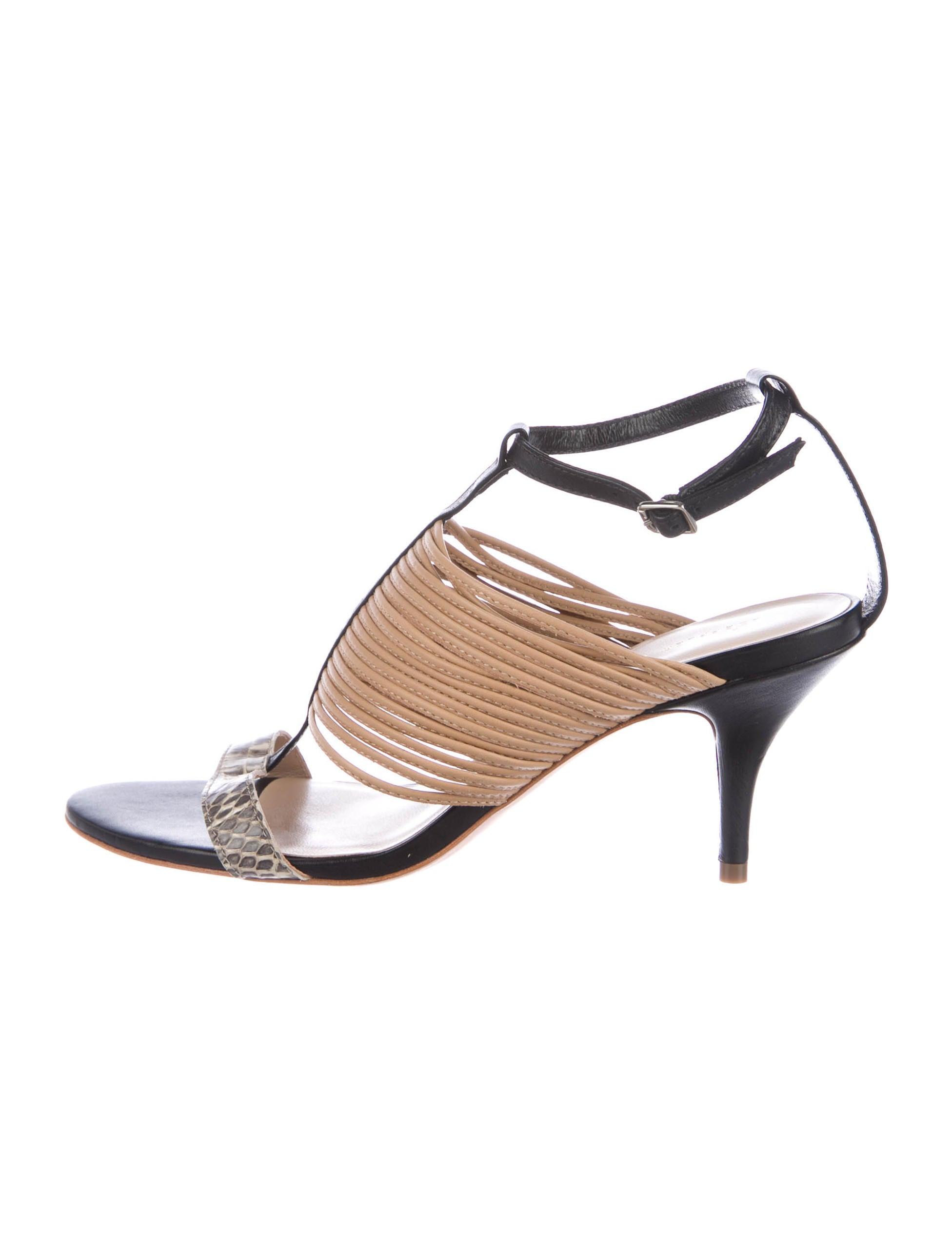Loeffler Randall Snakeskin Multi-Strap Sandals shop offer affordable cheap price jbIzTxVJyJ