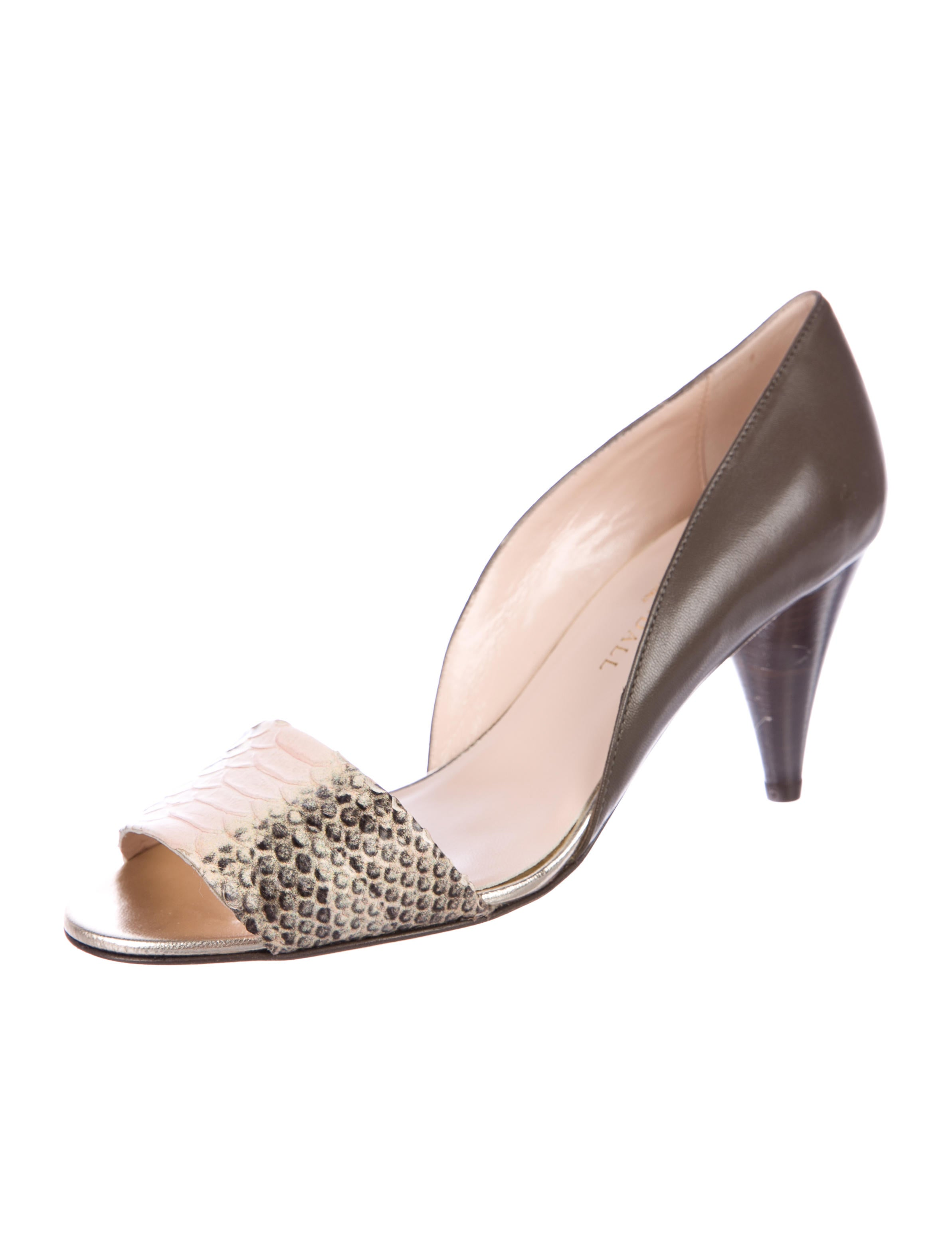 Loeffler Randall Embossed d'Orsay Pumps w/ Tags cheap exclusive on hot sale ebay cheap online clearance discounts best wholesale cheap online IGi81
