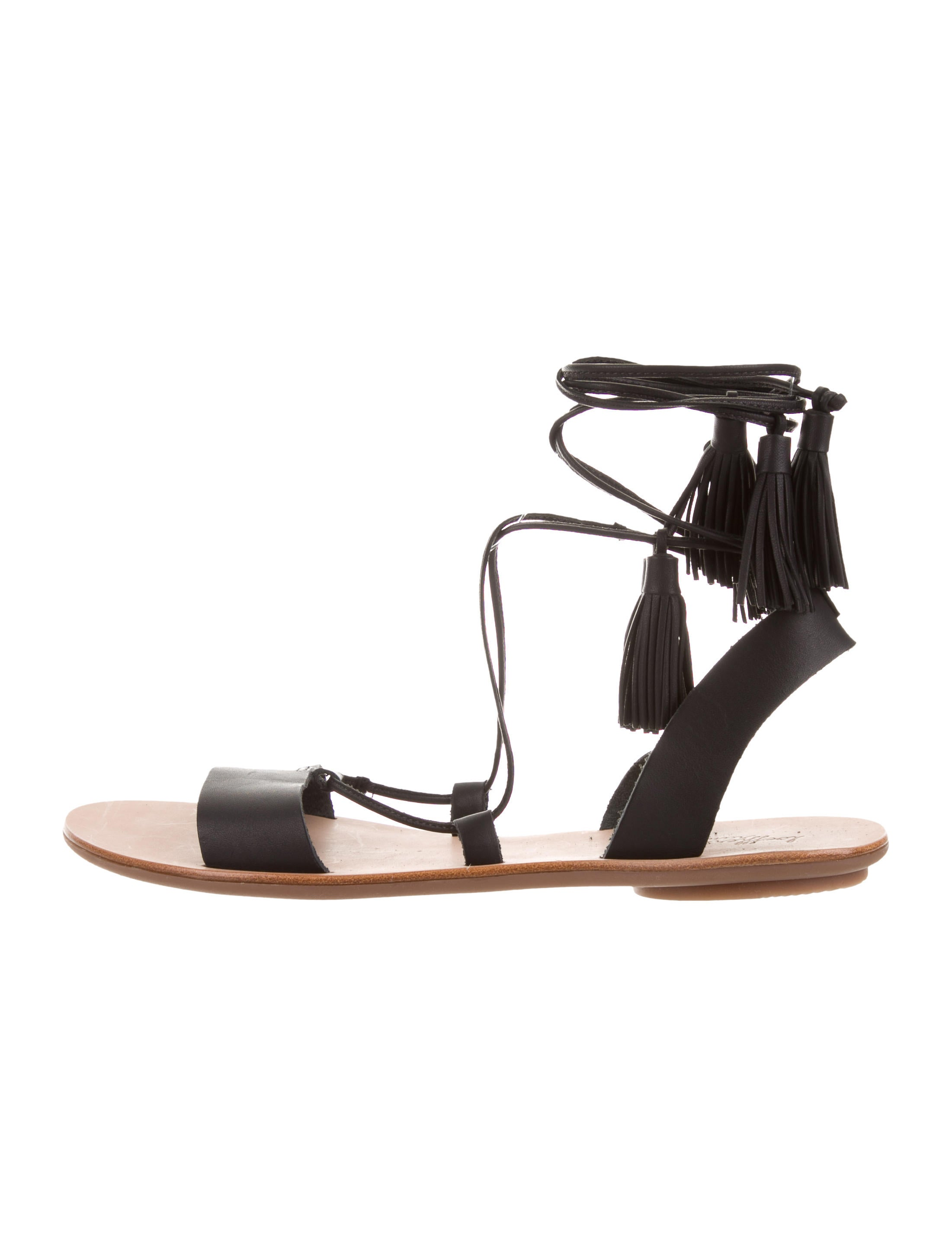 Loeffler Randall Saffron Wrap-Around Sandals w/ Tags